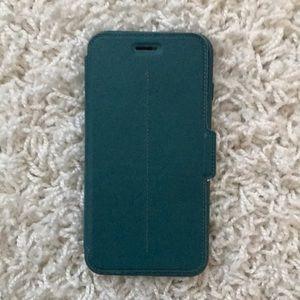 Otterbox iPhone 7 Plus Strada Folio Case Teal